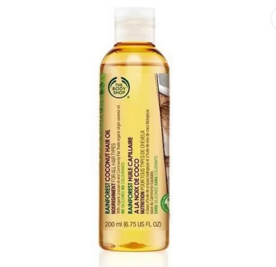 The Body Shop Rainforest Coconut Hair Oil