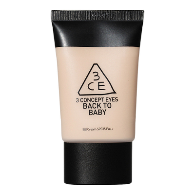 3CE-Back-To-Baby-BB-Cream-korean-beauty products-in-india