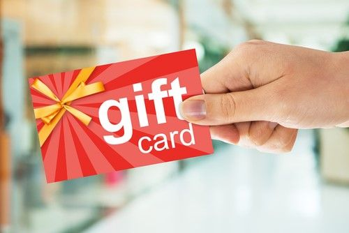 Gift card for newly married couple