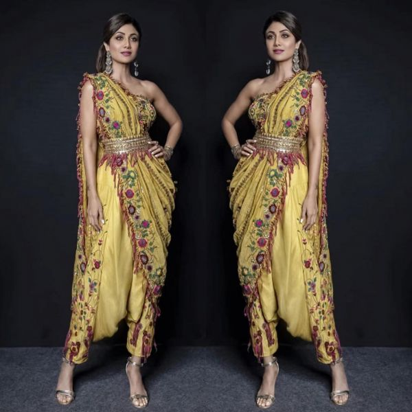 indo-western-outfits-dhoti-saree