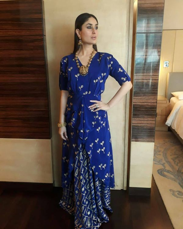 indo-western-outfits-weddings-front-slit-kurtis