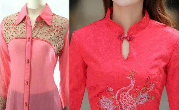 neck and collar styles of kurti