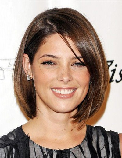 Short-Straight-Bob-Haircuts-2014-Ashley-Greene-Hairstyle