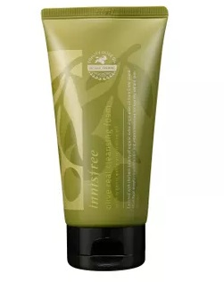 innisfree-olive-real-cleansing-foam-new-face-wash-for-sensitive-skin