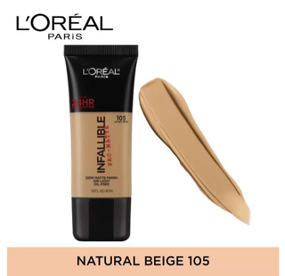 L'Oreal-Infallible-Pro-Matte-Foundation-best-foundation-creams
