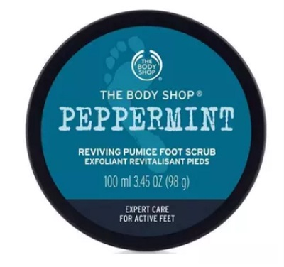 The-Body-Shop-Peppermint-Reviving-Pumice-Foot-Scrub-best-foot-scrubs
