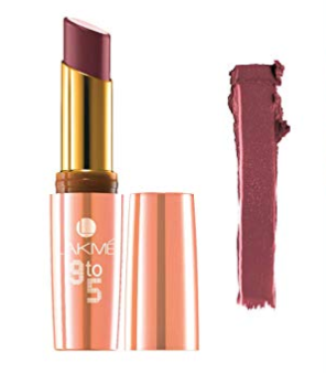 Lakme 9 To 5 Matte Lip Color  Wine Play M2