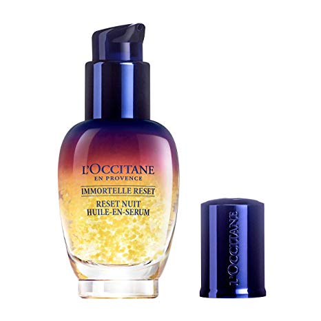 Best-wrinkle-filler-wrinkles-fine-lines-botox-anti-aging-L'Occitane Immortelle Reset Serum