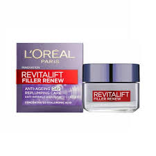Best-wrinkle-filler-wrinkles-fine-lines-botox-anti-aging-L'Oreal Paris Revitalift Filler Day Cream