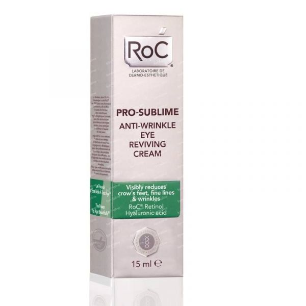 Best-wrinkle-filler-wrinkles-fine-lines-botox-anti-aging-RoC Pro-Sublime Anti-Wrinkle Eye Reviving Cream