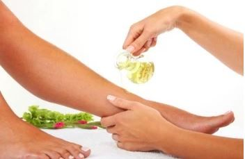 Olive Oil for smooth feet