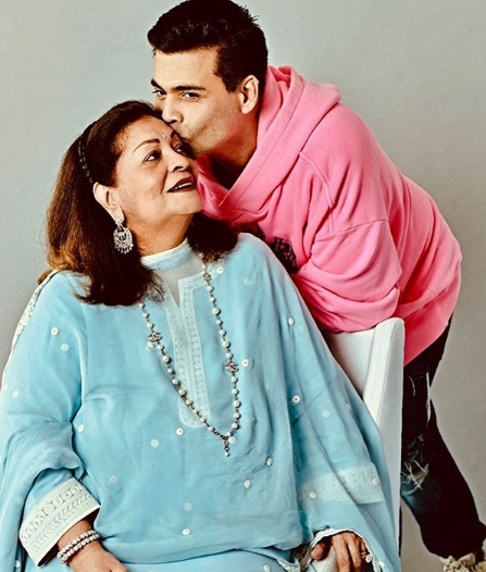 karan johar mothers day