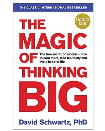 10-best inspirational book-The Magic Of Thinking Big