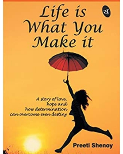 6- inspirational book-Life Is What You Make It