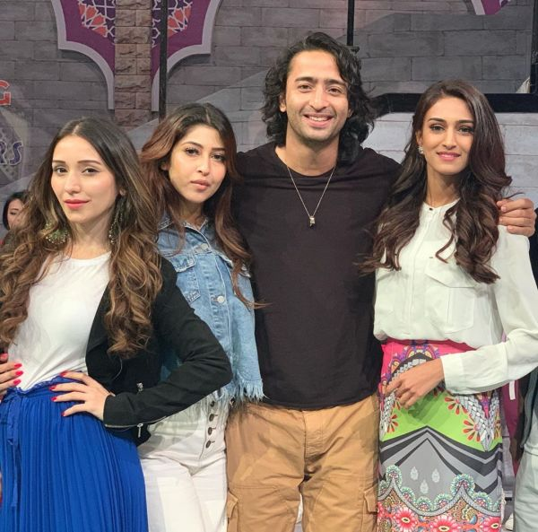 Erica Thanks Ayu Ting Ting For A Gift- shaheer and girls