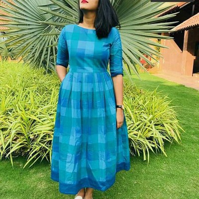 3. Dresses Made From Old Sarees In Marathi