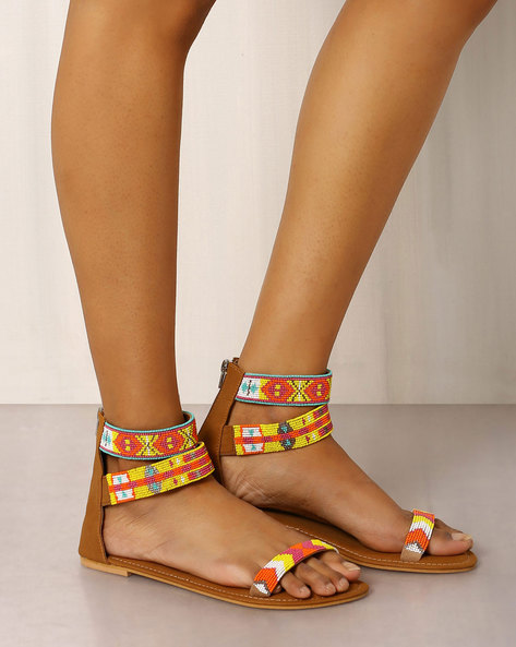 10 strappy sandals