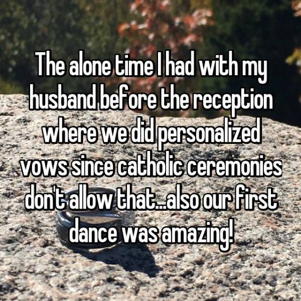5 people reveal memorable moments from their wedding