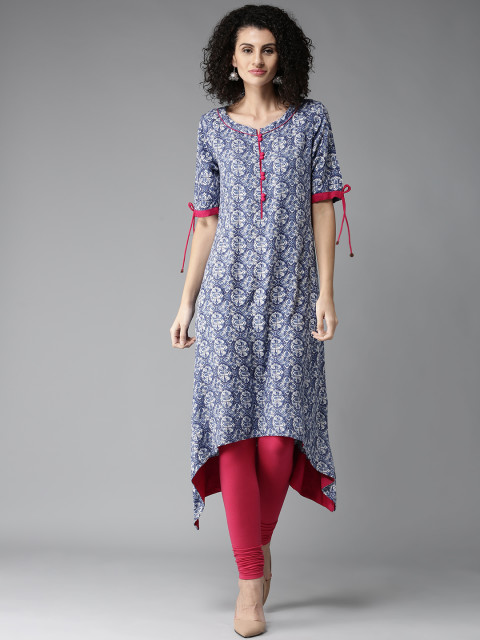 1 dos and donts of wearing ethnic wear kurta printed blue