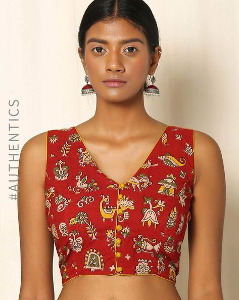 6 dos and donts of wearing ethnic wear kalamkari blouse