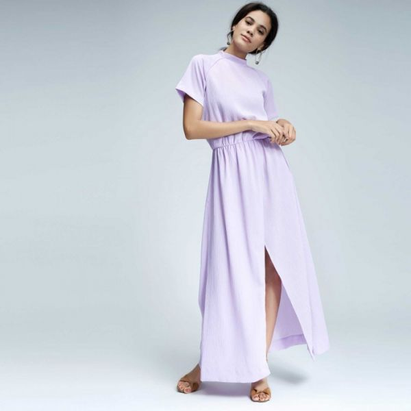 cool undertone 1 - what colours suit your skin tone -thelabellife - lillac maxi dress