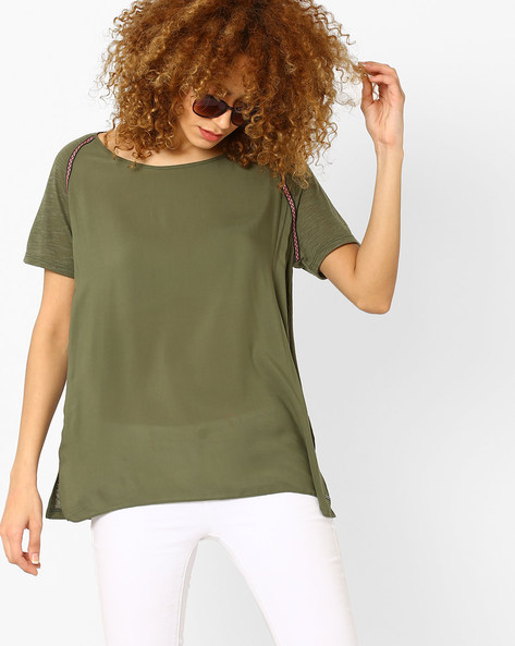 warm undertone 2- what colours suit your skin tone - olive green top - vero moda