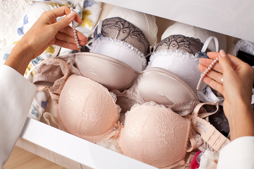 7 pack for your wedding night - bras in a drawer