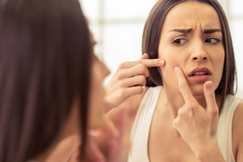 10. Take care of your skin - beauty products causing bad skins
