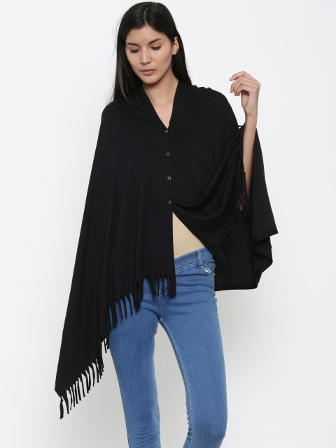 6 stylish capes and shrugs Kanvin Black Nursing Cape Shrug