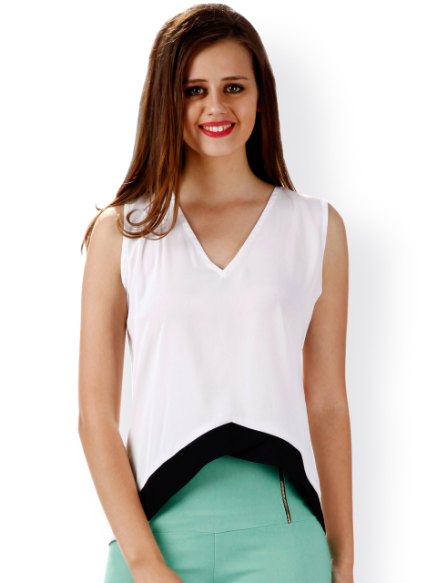 fashion items 2 white and black top