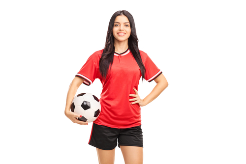 7 unexpected things girls wear that guys love - football player