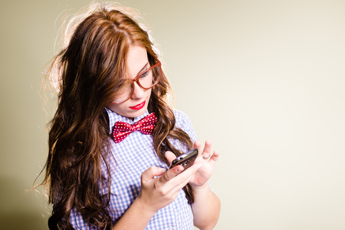 9 unexpected things girls wear that guys love - young pretty lady bow tie