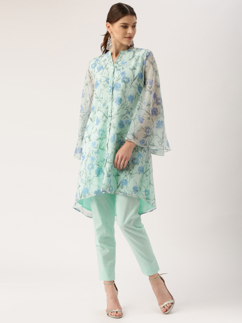 9 new indian wear styles all about you from Deepika Padukone Women Green Printed Straight Kurta