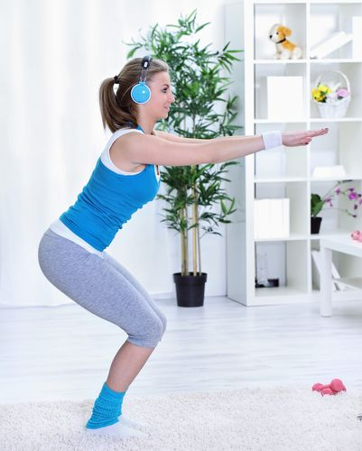 Squats_Tips To Getting Softer, Silkier Legs