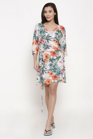 the-kaftan-company-women-white-printed-cover-up-dress-ethnic-office-wear