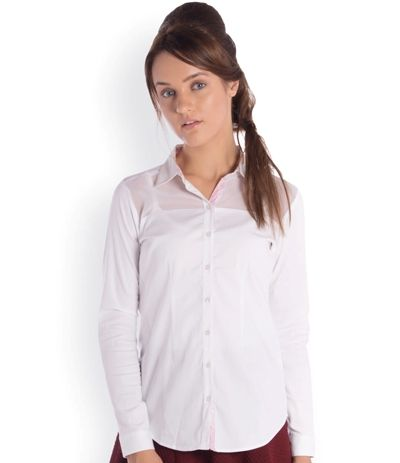 western formals for work - white shirt