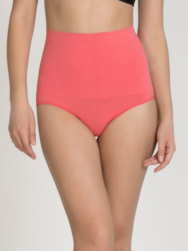 4-types-of-lingerie-Pink-Shaper-briefs