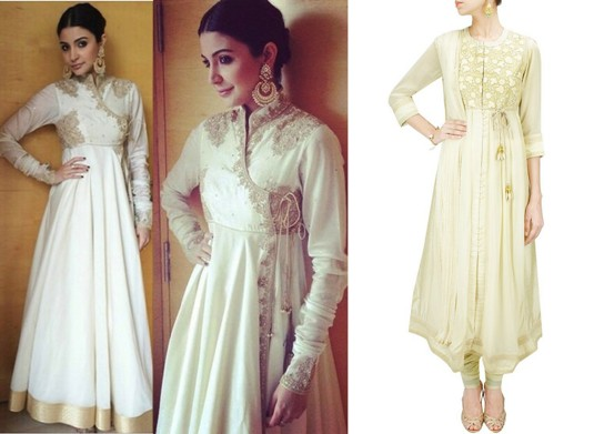 bollywood celebs in indian wear - anushka