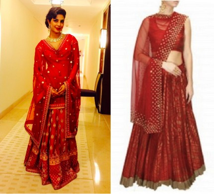 bollywood celebs in indian wear - priyanka