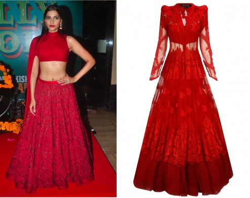 bollywood celebs in indian wear - sonam