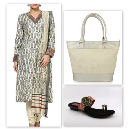 indian wear for work - collage 4