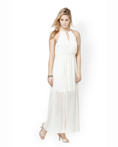 Spring Dresses 8 Atorse White Maxi Dress