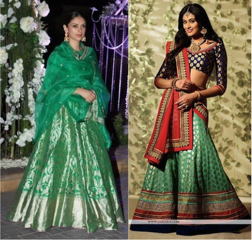 Bollywood celeb wedding style.