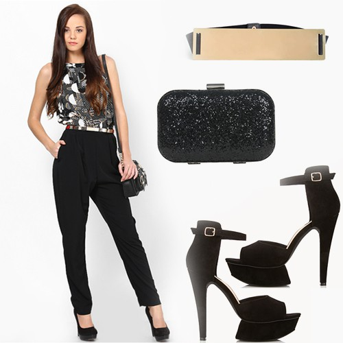 how to wear the jumpsuit 4 - accessorize