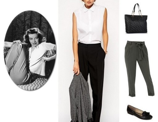iconic hollywood looks - katherine hepburn