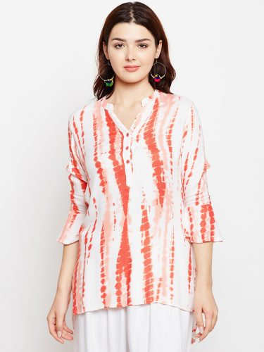 Tie and Die Printed Tunic