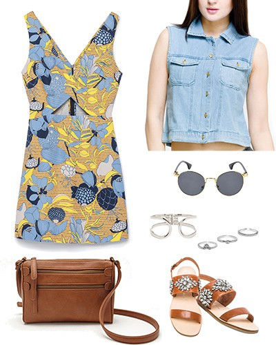 how to style floral prints 3