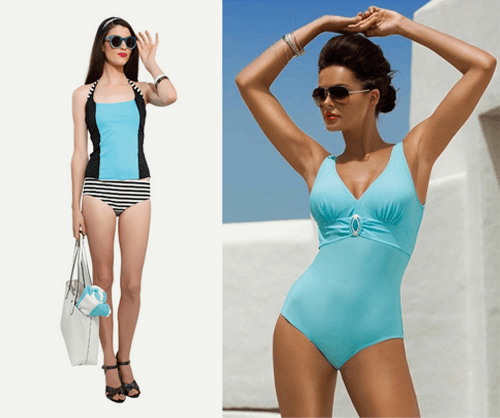 swimsuits for every body type apple
