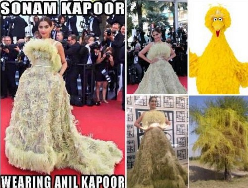 funny celeb moments - sonam