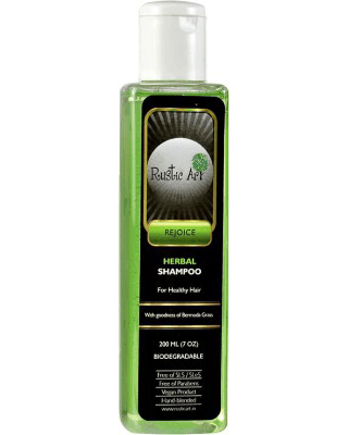 best organic shampoos india - rustic art